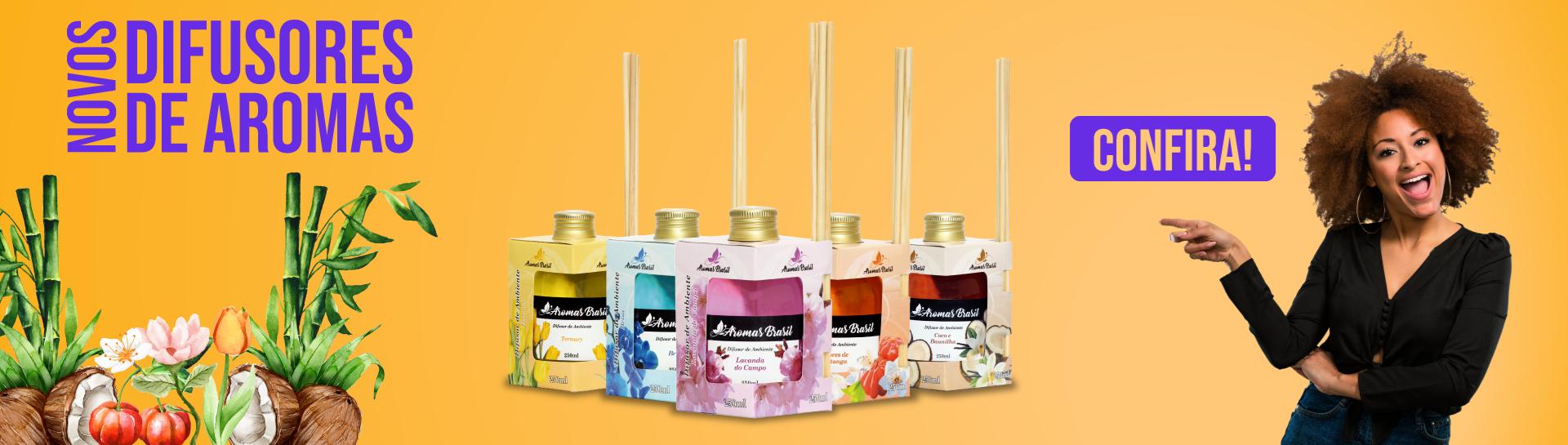 Difusores Novos Aromas