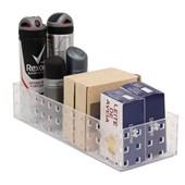 Caixa Organizadora Transparente 27,5x10,5x6 - Clink