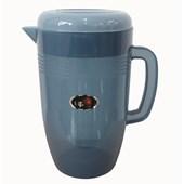 Jarra de Plástico Com Tampa 4 Litros Azul - Up House