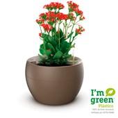 Produto Vaso Autoirrigável Redondo Para Plantas e Temperos